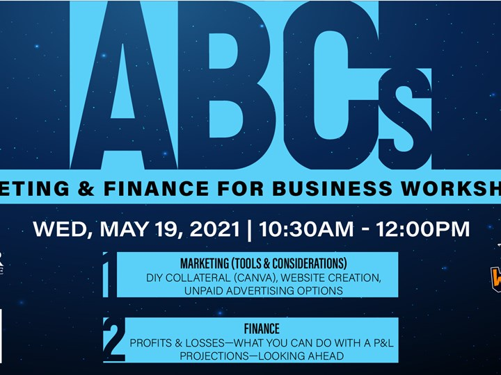 ABCs of Marketing and Finance for Business Workshop