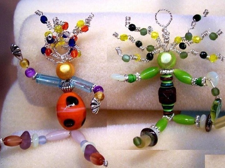 Crafting Class: Wire-Beaded People
